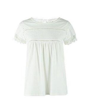 Блузка белая Semicouture