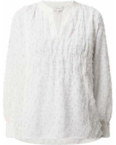 Biała bluzka z frędzlami Levete Room