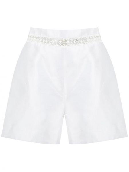 Шелковые белые шорты Martha Medeiros