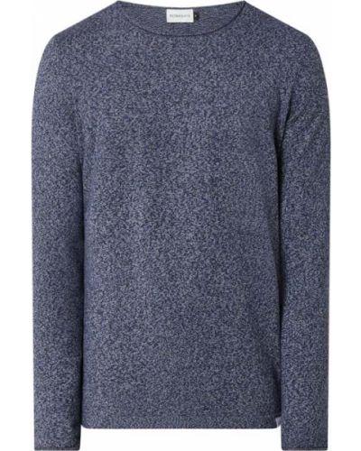 Niebieski sweter bawełniany Nowadays