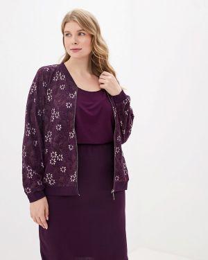 Юбочный костюм фиолетовый Blagof