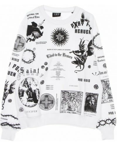 Biała bluza dresowa Ihs