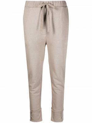 Серые зауженные брюки Kristensen Du Nord