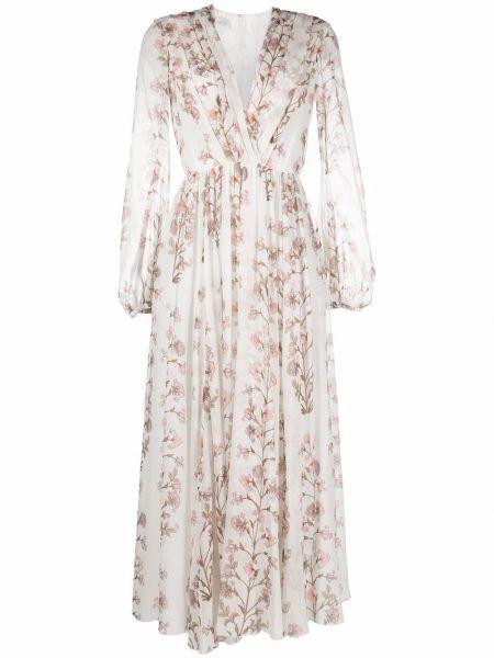 Шелковое платье миди Giambattista Valli