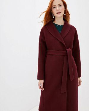 Зимнее пальто бордовый пальто Doroteya