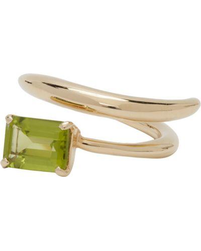 Открытое кольцо золотое Faris
