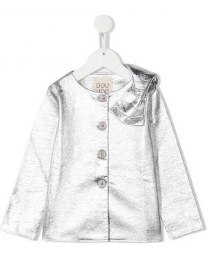 Серебряная блузка Douuod Kids