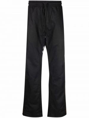Czarne spodnie z wiskozy Just Don