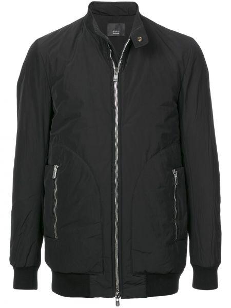 Черная куртка с манжетами на молнии с карманами Thamanyah