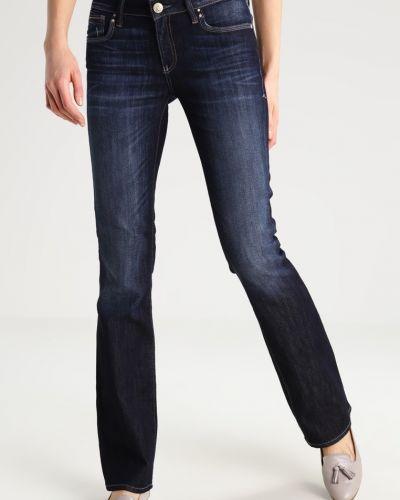 Прямые синие джинсы с низкой посадкой Mavi