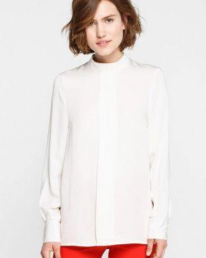 Блузка с длинным рукавом белая Musthave