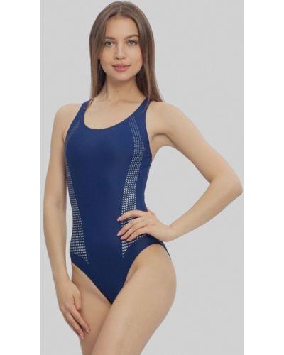 Слитный купальник спортивный синий Sport Vision