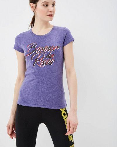 Фиолетовая футболка Boxeur Des Rues