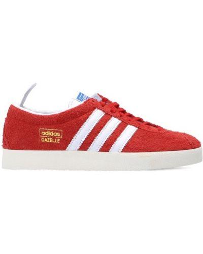 Buty sportowe vintage - czerwone Adidas Originals