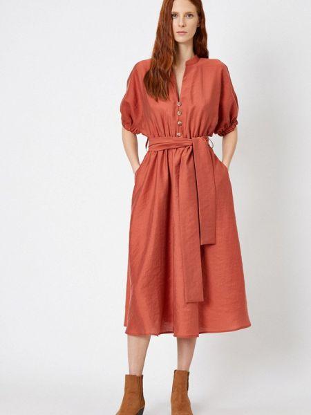 Платье прямое красный Koton