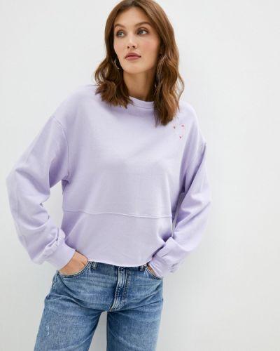 Фиолетовая свитшот Q/s Designed By