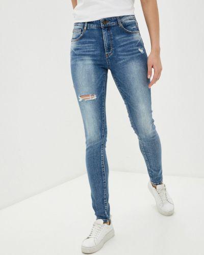 Синие джинсы-скинни узкого кроя Miss Sixty