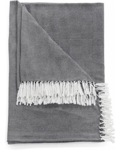 Белая накидка с бахромой Bonprix