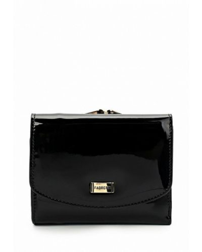 Черный кошелек Fabretti
