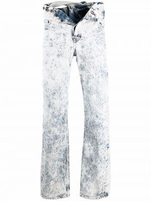 Прямые джинсы классические - белые Y Project