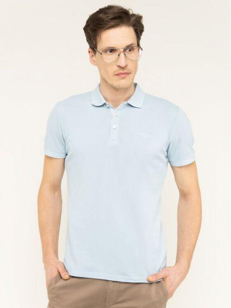 Niebieska koszulka Baldessarini