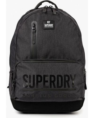 Черный рюкзак Superdry