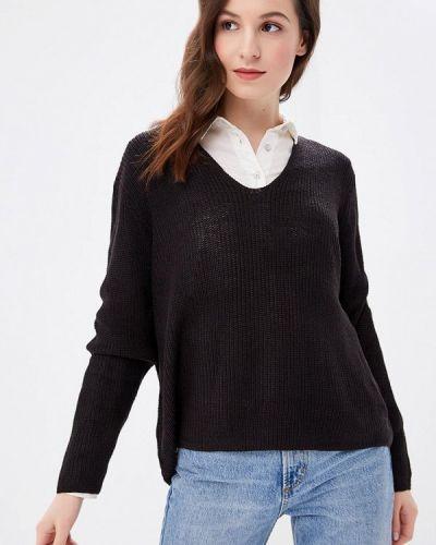 Черный пуловер Fresh Brand