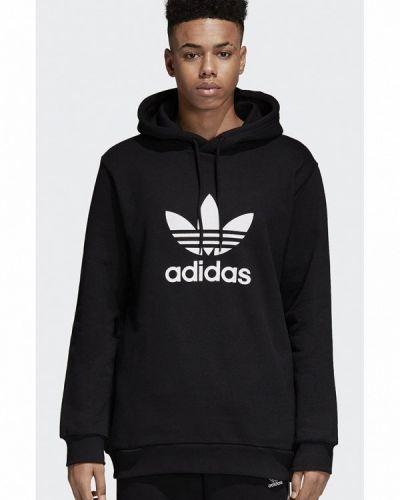 Черное худи Adidas Originals