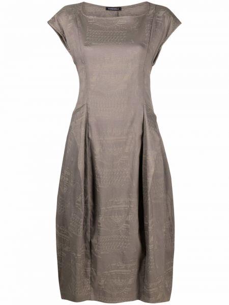 Платье с вырезом с принтом Rundholz