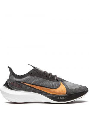 Koronkowa czarny top metal Nike