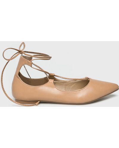 Бежевые балетки Answear