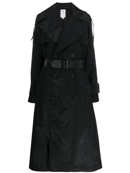 Длинное пальто пальто с карманами Y-3