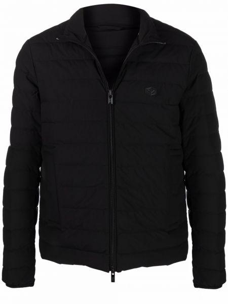 Пуховая куртка - черная Emporio Armani