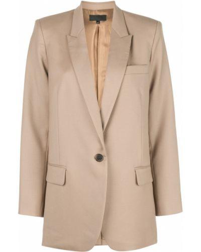 Однобортный удлиненный пиджак с карманами Nili Lotan