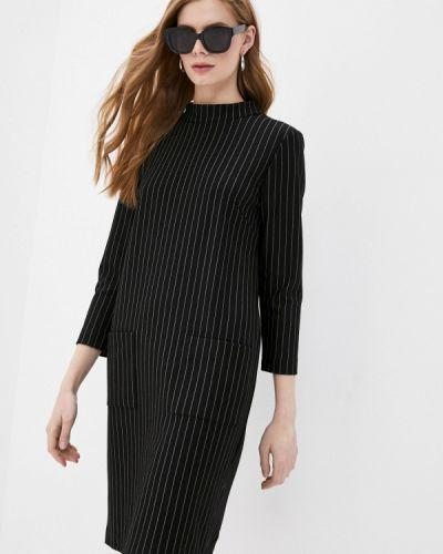Прямое черное платье Blauz