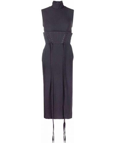 Ажурное платье - серое Alex Perry