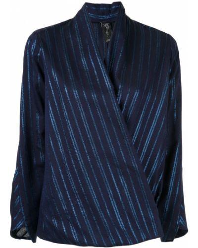 Блузка с длинным рукавом с запахом прямая Zero + Maria Cornejo