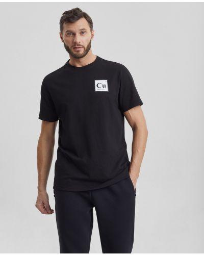 Свободная с рукавами футболка свободного кроя Barmariska