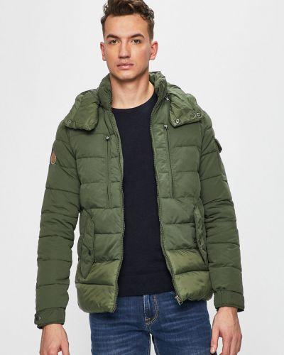 Утепленная куртка с капюшоном укороченная Jack & Jones