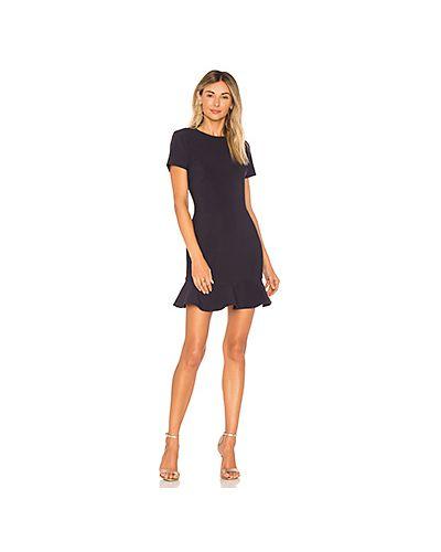Платье мини со складками на молнии Likely