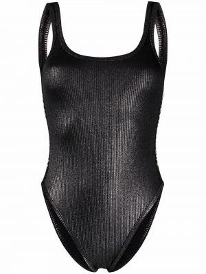 Черный купальник без рукавов Calvin Klein
