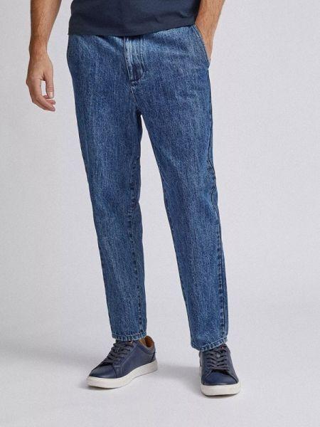 Синие прямые джинсы с жемчугом Burton Menswear London