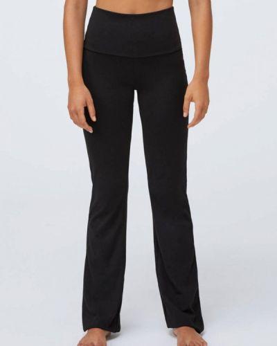 Спортивные черные спортивные брюки Oysho_sport