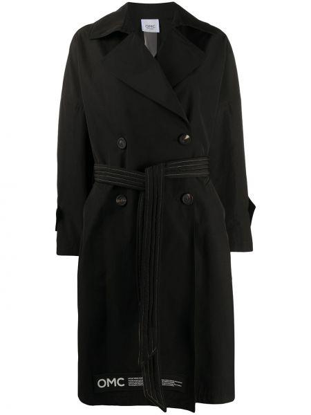 Черное пальто Omc