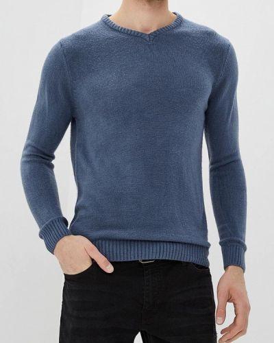 Синий пуловер 2018 Hopenlife