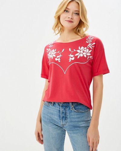 Розовая футбольная футболка Q/s Designed By