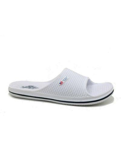 Sandały - białe U.s Polo Assn.