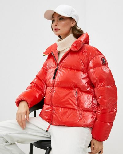 Красная зимняя куртка Parajumpers
