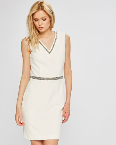 Платье мини с V-образным вырезом на молнии Morgan