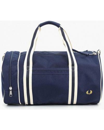 Спортивная сумка текстильная синий Fred Perry